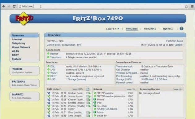 actualizar tu FRITZ!Box
