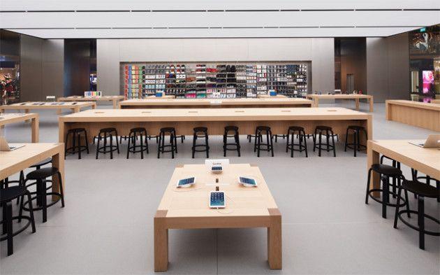 la Genius Bar de una Apple Store