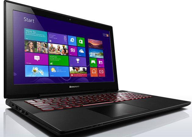 Lenovo Y50, portátil para juegos con pantalla 4K 30