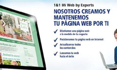 1&1 crea y mantiene tu página web gracias a Mi Web by Experts