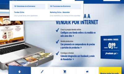 Cómo crear una web con 1&1 Mi Web (V): Tiendas online 46