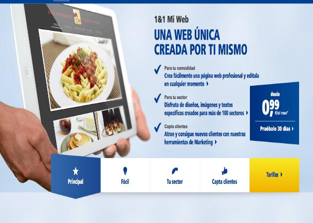 Cómo crear una web con 1&1 Mi Web (VIII): Editar logotipo 30