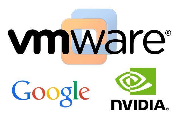 Google y nVidia, liados de VMware