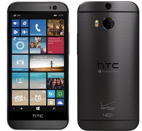 HTC M8 con Windows Phone 8.1