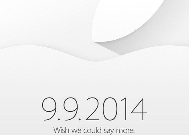 iPhone 6 el 9 de septiembre, anuncia Apple