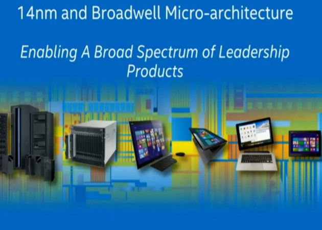 Intel Broadwell 14 nm