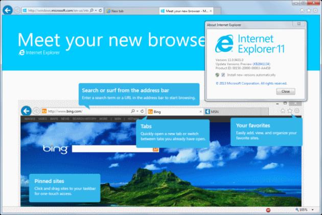 Internet Explorer sin soporte