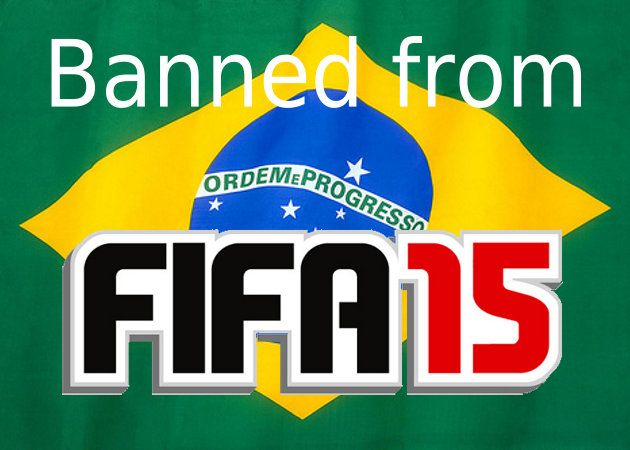 Liga brasileña no estará en FIFA 15