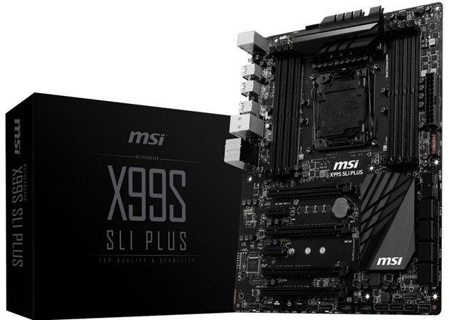 MSI All-Black X99S