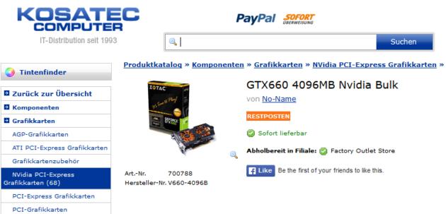 Encuentran tarjetas gráficas NVIDIA falsas en el canal alemán