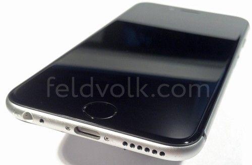 Nuevas imágenes del iPhone 6, podría venir con 128 GB de espacio