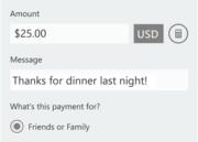 PayPal Windows Phone 3
