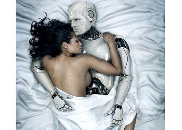 Cinco robots humanoides