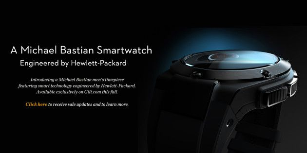 Smartwatch de lujo de HP
