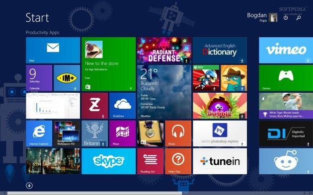 Actualización para Windows 8.1 disponible para descarga