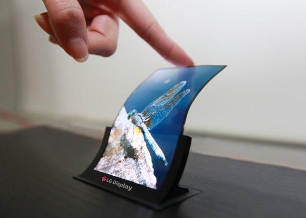 Avances hacia pantallas OLED flexibles más económicas