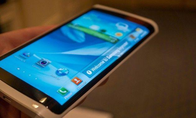 Samsung estaría probando pantallas flexibles y futuristas