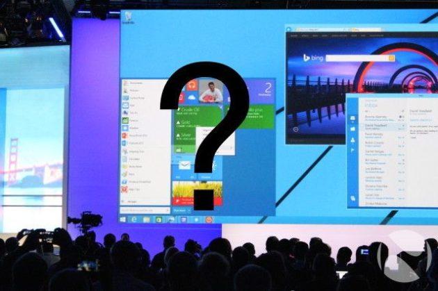 preguntas sobre Windows 9