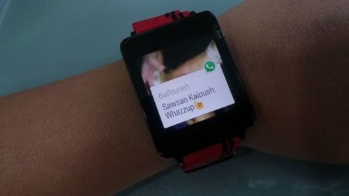 WhatsApp en tu muñeca con soporte completo de Android Wear