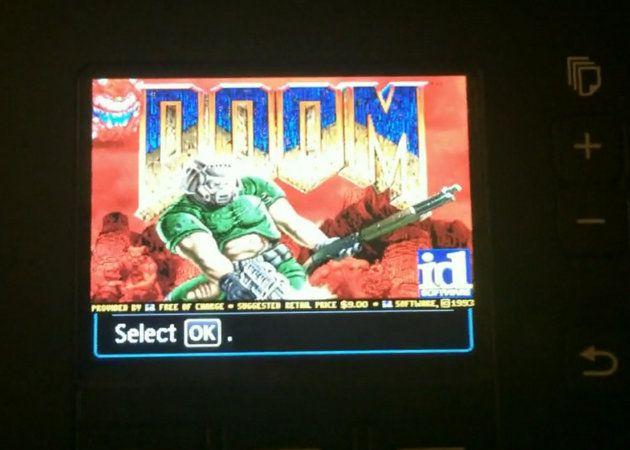 Ejecutan Doom en una impresora Canon