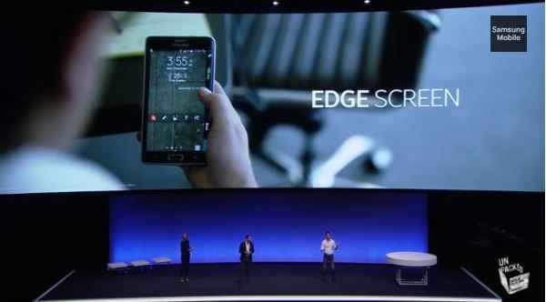 Edge Screen Samsung