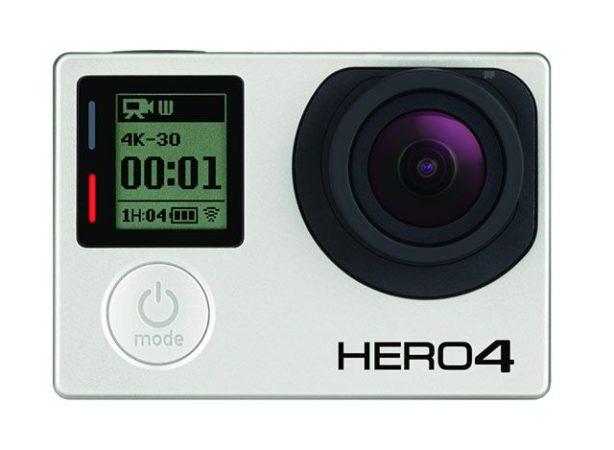 GoPro HERO4 ofrecerá grabación 4K a 30 FPS