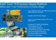 Intel presenta tres Core M de 14 nm