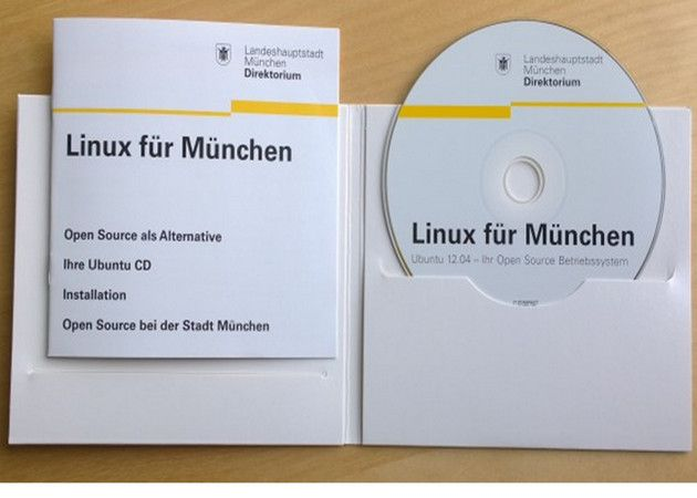 Las bibliotecas de Múnich regalan Linux