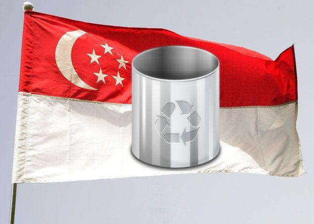Singapur pondrá 100 cubos de la basura para dispositivos electrónicos