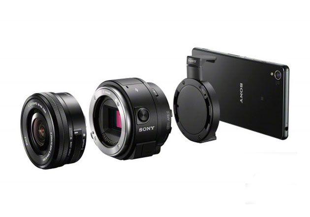 Sony QX1, ópticas de calidad réflex para móviles