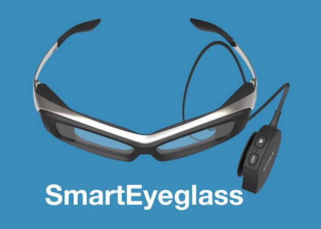 Sony muestra un prototipo de SmartEyeglass, su propuesta contra Google Glass