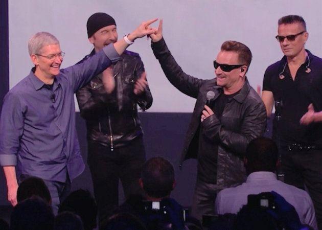 La asociación de Apple con U2 confunde a los usuarios