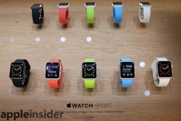 Especificaciones del Apple Watch, nada revolucionario