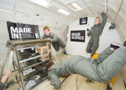NASA lleva al espacio la primera impresora 3D