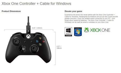 Microsoft anuncia el mando de Xbox One para PC