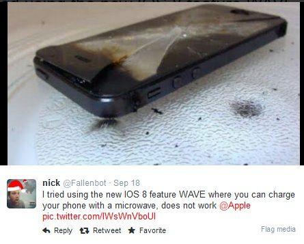 Wave es una farsa que induce a meter tu iPhone al microondas