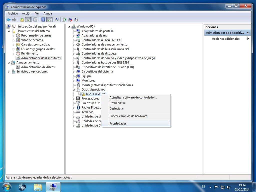Cómo buscar drivers para Windows manualmente