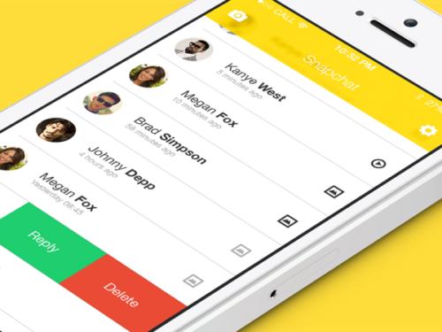 Snapchat ya sirve publicidad a través de su app en Estados Unidos