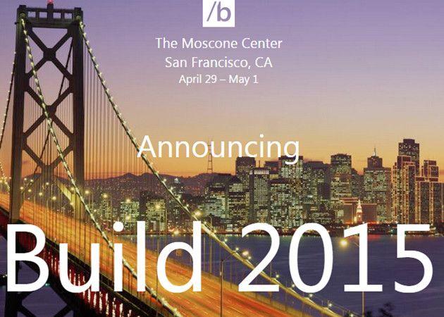 Microsoft anuncia la BUILD 2015 con Windows 10 como estrella