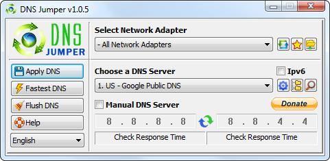 servicio DNS externo