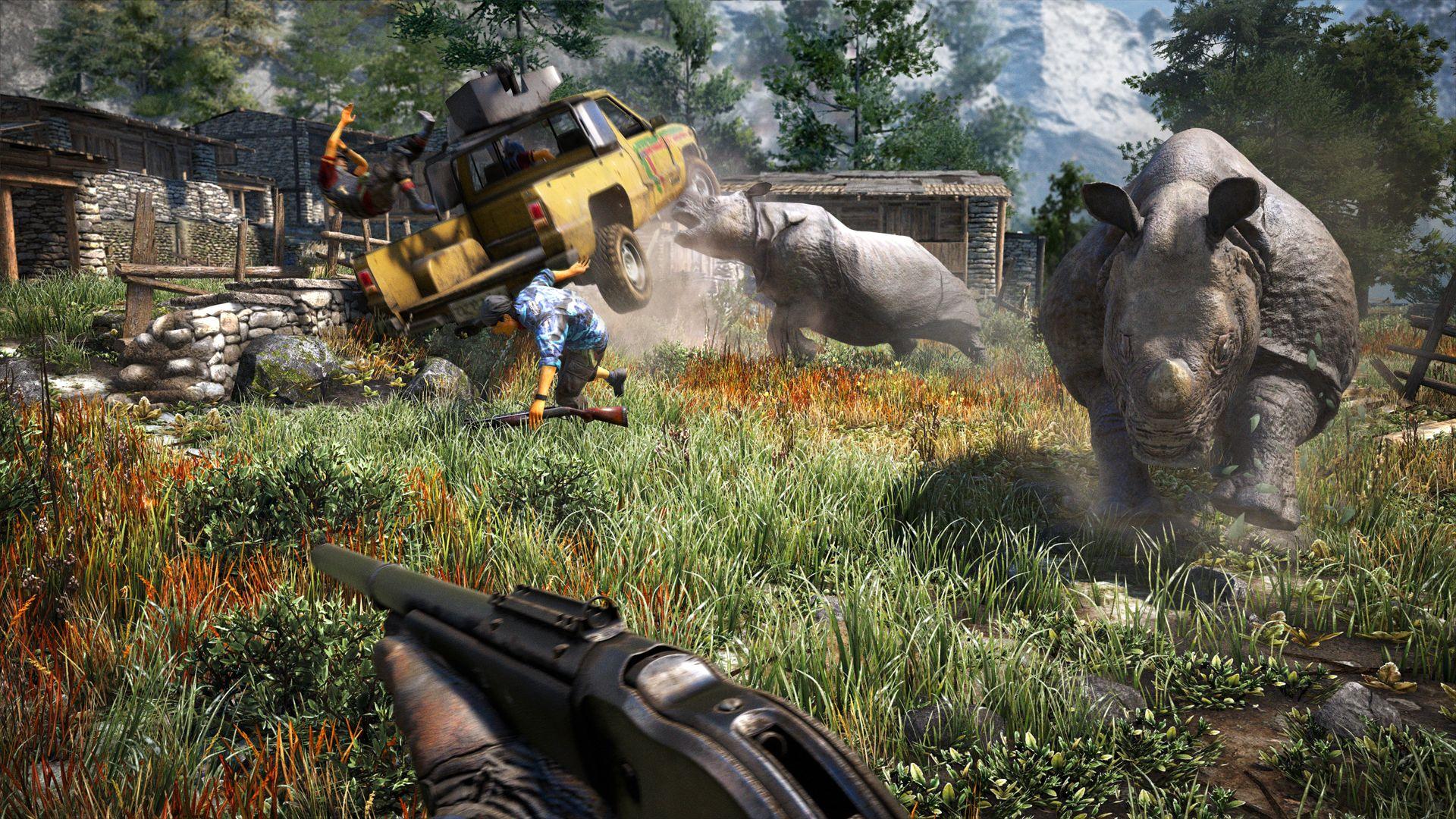 Far Cry 4 Correrá A 1080p Y 30 Fps En Ps4 Y Xbox One
