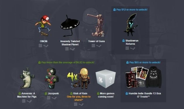 Humble Bundle especial para Halloween