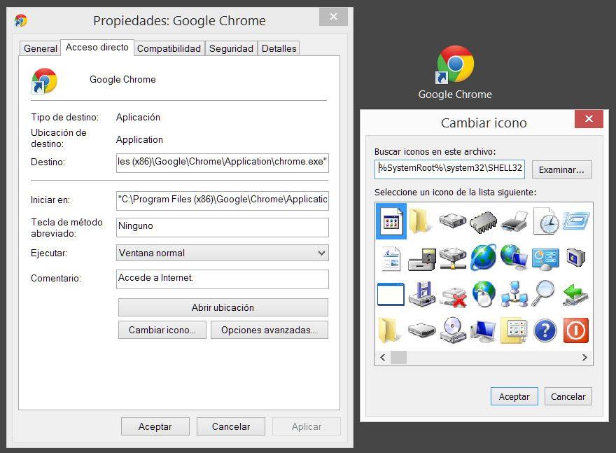 Cinco sitios gratuitos donde descargar iconos muycomputer - Iconos para escritorio windows ...
