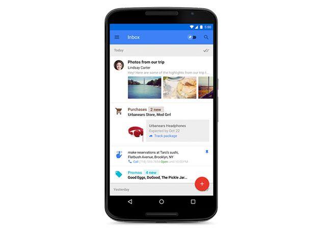 Inbox, la bandeja de entrada que revolucionará Gmail
