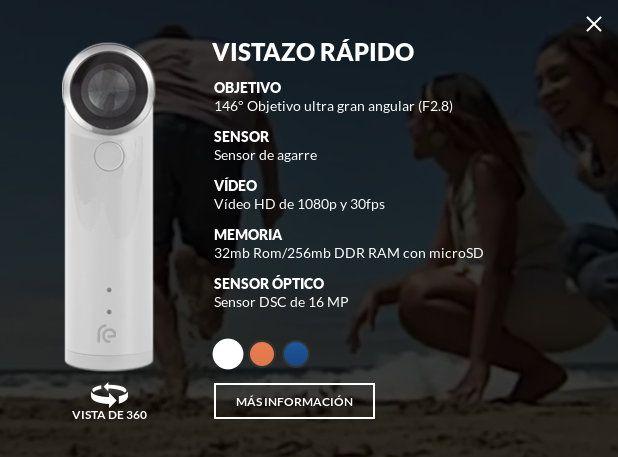 Información básica de RE Camera de HTC