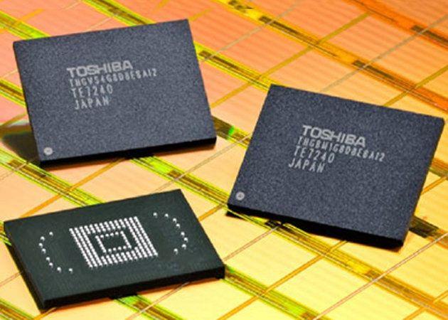 Toshiba anuncia las NAND Flash embebidas más pequeñas del mundo