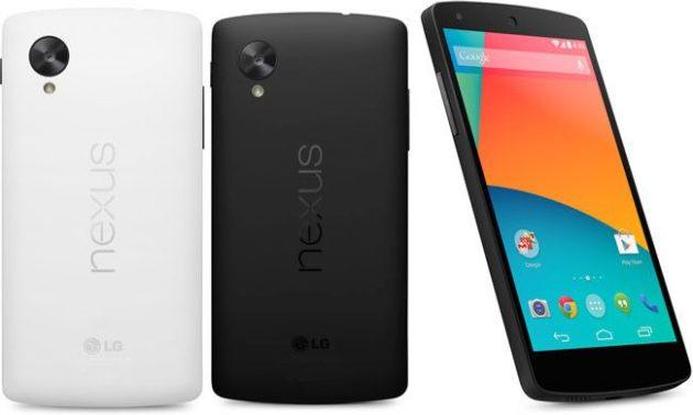 Nexus 5 vuelve
