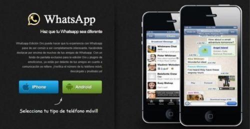 WhatsApp Oro, nueva estafa de SMS Premium