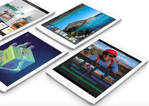 Disponibles en España los nuevos tablets Apple