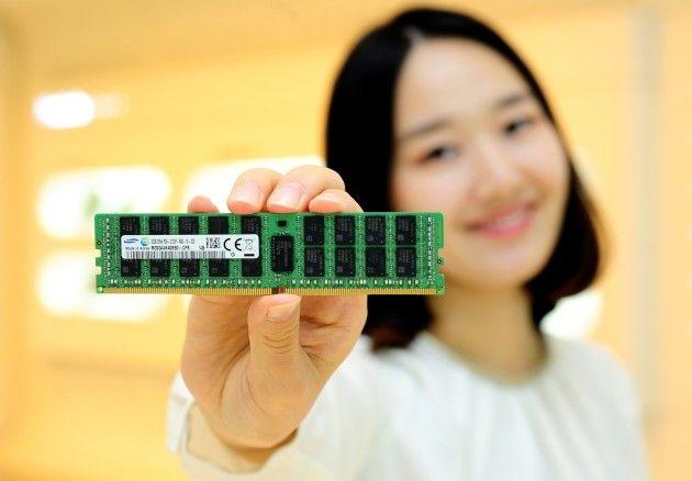 Samsung empieza la producción de DDR4 a 20nm